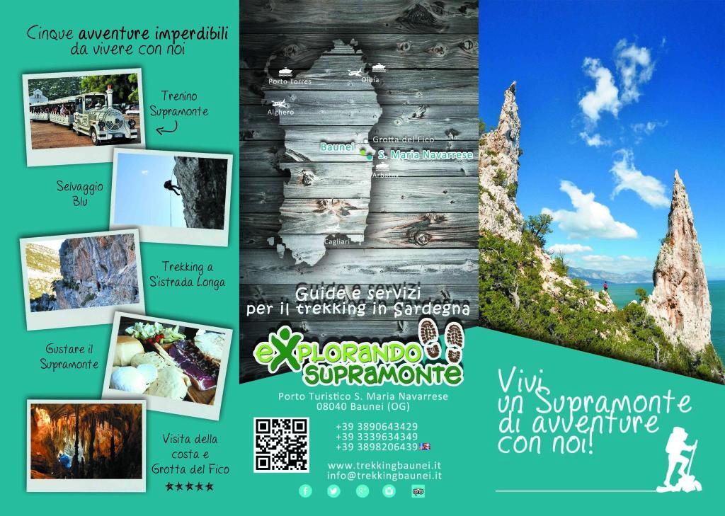 brochure explorando esterno