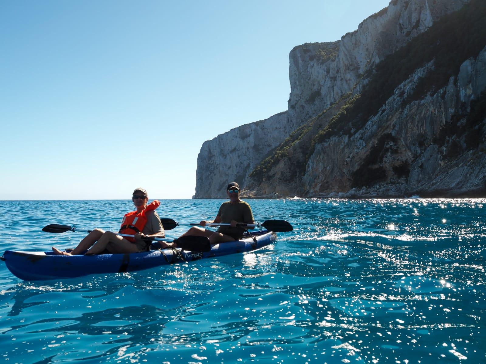 kayak doppio goloritzè